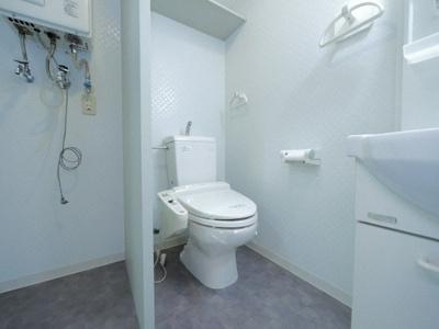 【トイレ】グランメール幌西B棟