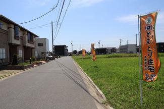 グランファミーロ金田東4 土地 袖ヶ浦駅 すれ違いもスムーズにできますので安心です。