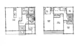 建物プラン例 建物価格 1656万円、建物面積109.30㎡