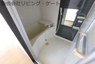 とても広々としたトイレです。