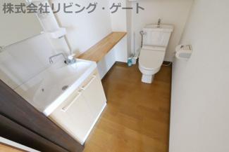 【トイレ】甲府市中央4丁目 第2二栄ビル 2階