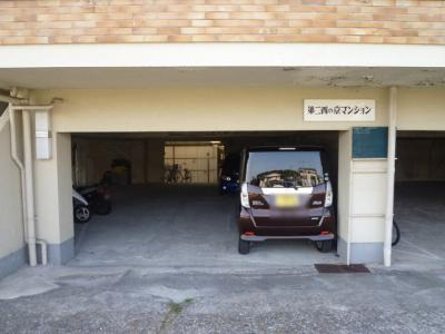 【駐車場】第二西の京マンション