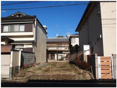 【外観】吉田上大路町 南向き 新築戸建