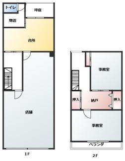 【区画図】三条御前西の元電機屋さん