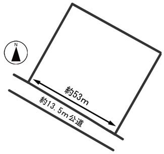 【区画図】54647 瑞穂市宝江土地