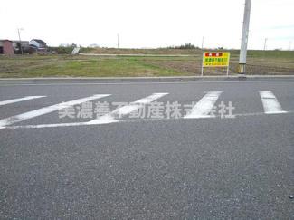 【前面道路含む現地写真】54647 瑞穂市宝江土地