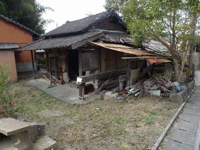 飯塚市潤野 売地(古家付)