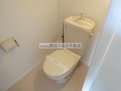 【トイレ】レオパレスタカラ