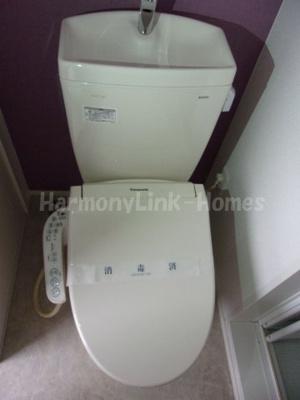 プランドール東小岩のトイレもきれいです(同一仕様写真)