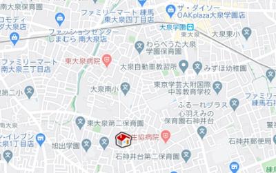 【地図】レオパレス豊 Ⅲ(37795-206)