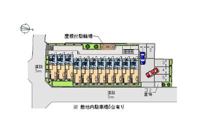 【駐車場】レオパレスSir House (24780-206)