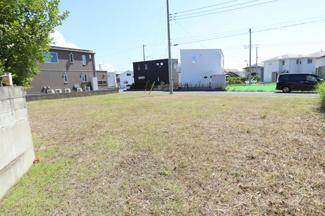 グランファミーロ木更津金田東 新築一戸建て 袖ヶ浦駅 奥行きがあり、開放的な敷地。お庭も十分に取れます。