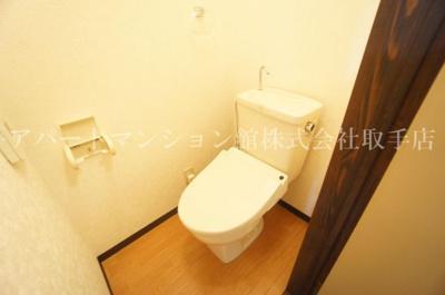 【トイレ】ガーデンハウス2号館
