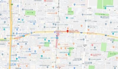 【地図】エイチツーオー第5ビル