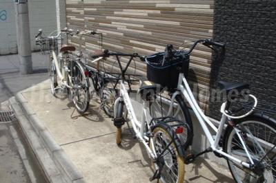 DHG.彩の駐輪スペース