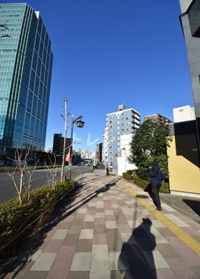 【周辺】メインステージ白金高輪駅前