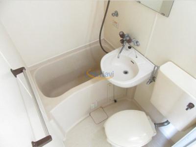 【浴室】ブランコート姫島公園