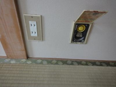 室内ガス配管有り