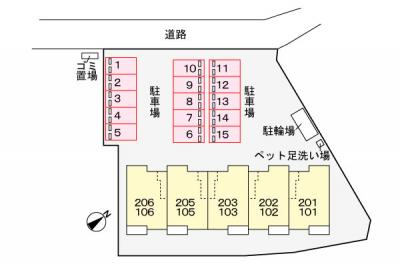 【区画図】アンプルール
