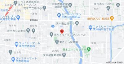 【地図】五十鈴ハイツ東館