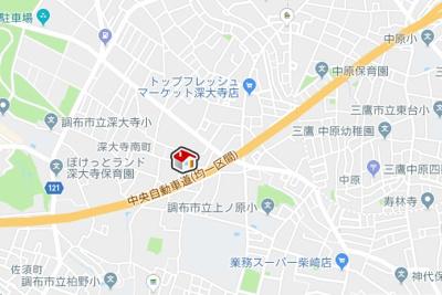 【地図】レオパレスリッチM(39753-204)
