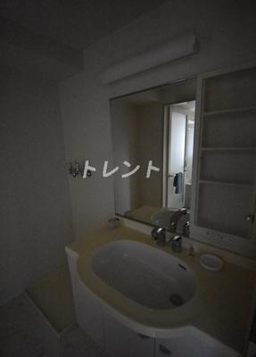 【洗面所】芝公園アパートメント