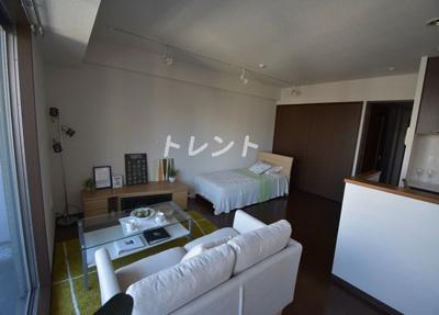 【居間・リビング】芝公園アパートメント