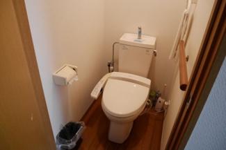 【トイレ】津山市中之町 中古住宅2DK+離れ