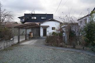 【外観】津山市中之町 中古住宅2DK+離れ