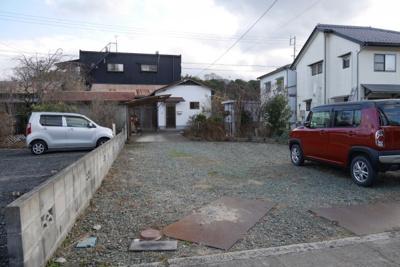 【駐車場】津山市中之町 中古住宅2DK+離れ