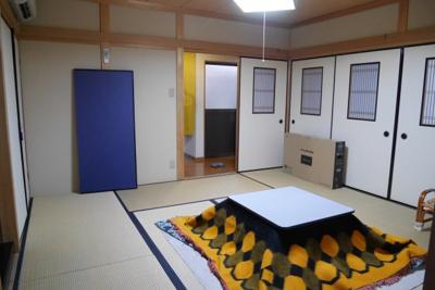 【和室】津山市中之町 中古住宅2DK+離れ