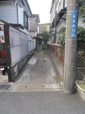 【外観】長倉町売地