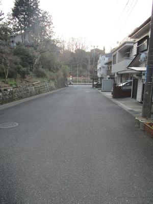 【前面道路含む現地写真】長倉町売地
