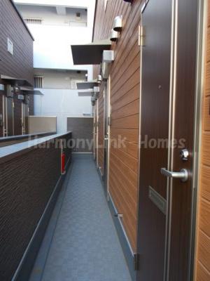 ハーモニーテラス根岸Ⅳの廊下(2階)☆