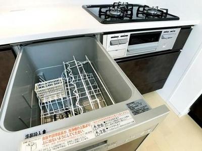 食器洗浄機がついています。