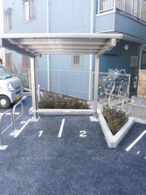 【外観】フローラル中葛西Ⅵバイク駐輪場