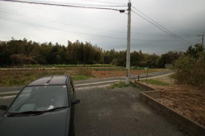 【展望】リズム山の田