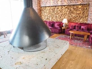 33階暖炉スペース