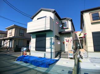 京成本線「鬼越」駅徒歩17分の全3棟の新築一戸建てです。