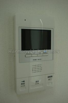 ソフィアマリンのTV付インターホン(同一仕様写真)