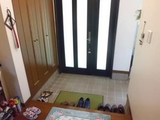 シューズBOXのある広々とした玄関です!
