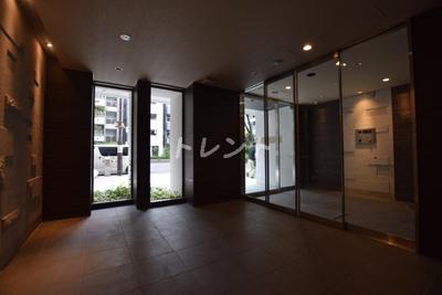 【エントランス】オープンレジデンシア神楽坂並木通り