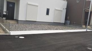 きれいに整備された駐車スペースです。