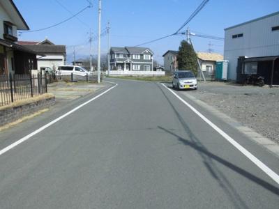 【前面道路含む現地写真】堀之下町土地