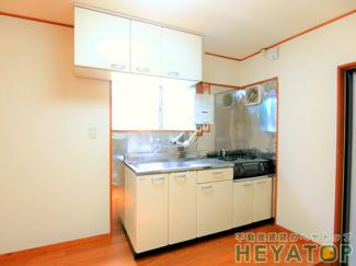 ガスコンロが置けるキッチンで楽しくお料理