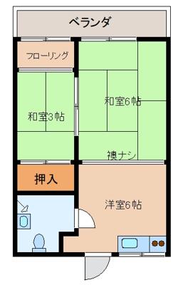 【外観】下門アパート