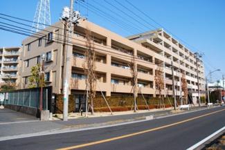 外観です クレストグランディオ横浜 最上階 室内コンディション良好 JR川崎駅利用 多彩な共用設備 平成18年2月築 3LDK 床暖房 各居室収納
