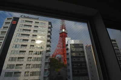 東京タワーが目の前のワンランク上の1LDK 大切なペットと暮らせます