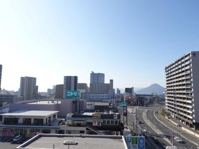 宇品の花火大会が楽しみですね。 広島の平地で海が見れる眺望って少ないですよね。 現地からの眺望(2020年2月11日9:00頃)撮影