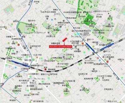 ROYGENT SUGAMO WESTの地図☆